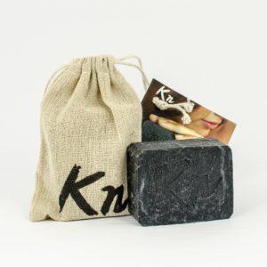 Sapun natural handmade negru